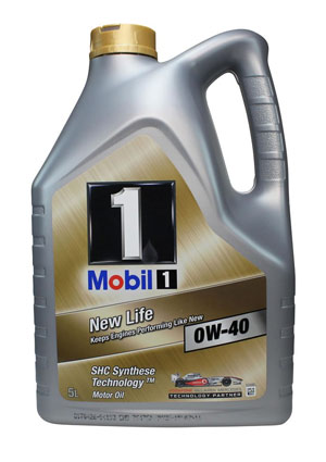 mobil 1 new life 0w 40 307 lubricants. Black Bedroom Furniture Sets. Home Design Ideas